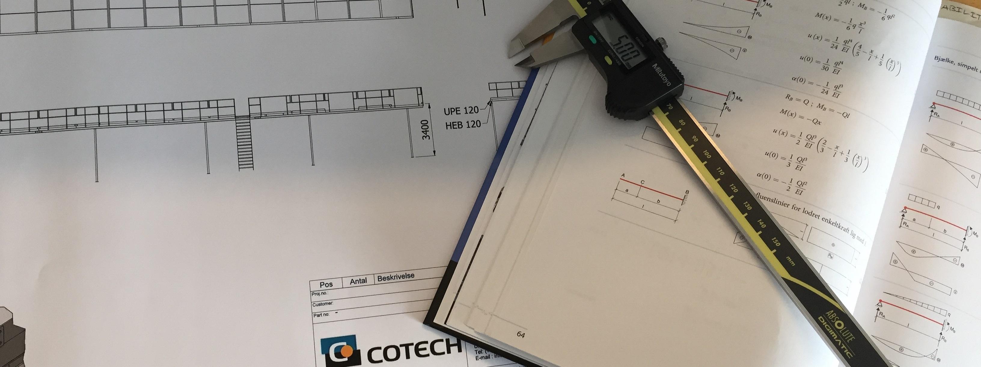 COTECH er certificeret efter EN 1090-2 og ISO 9001 2015